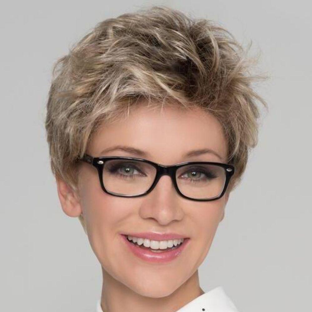 Alba Confort Peluca oncológica de cabello sintético