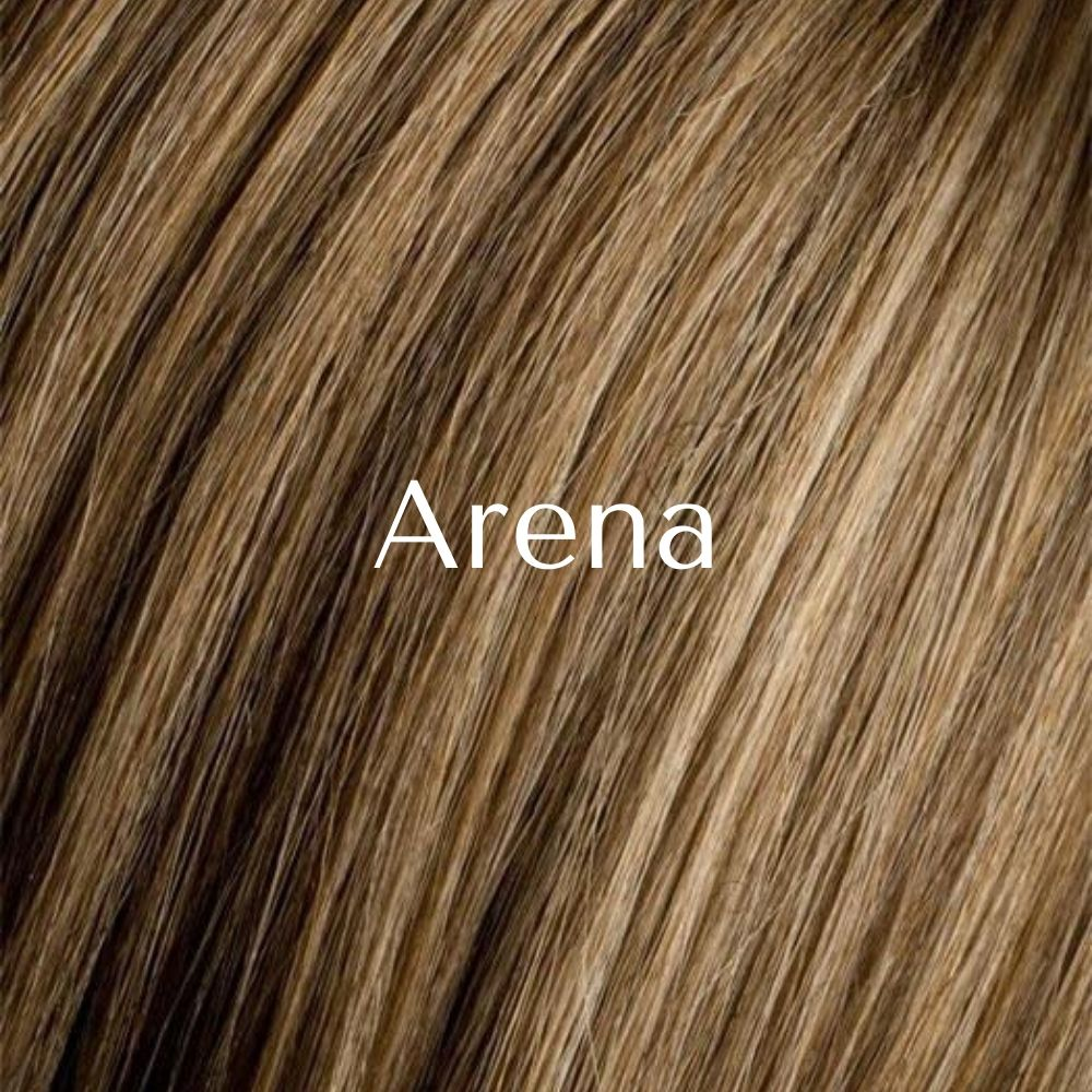 Adore Peluca oncológica de cabello mezcla natural y fibra