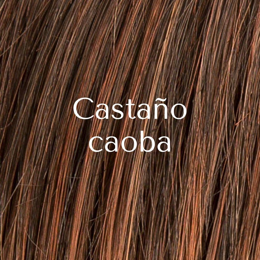 Frappe postizo de coleta de cabello sintético