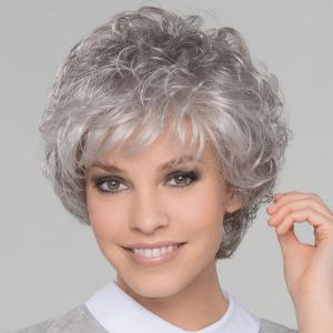 City Large gross Peluca oncológica de cabello sintético