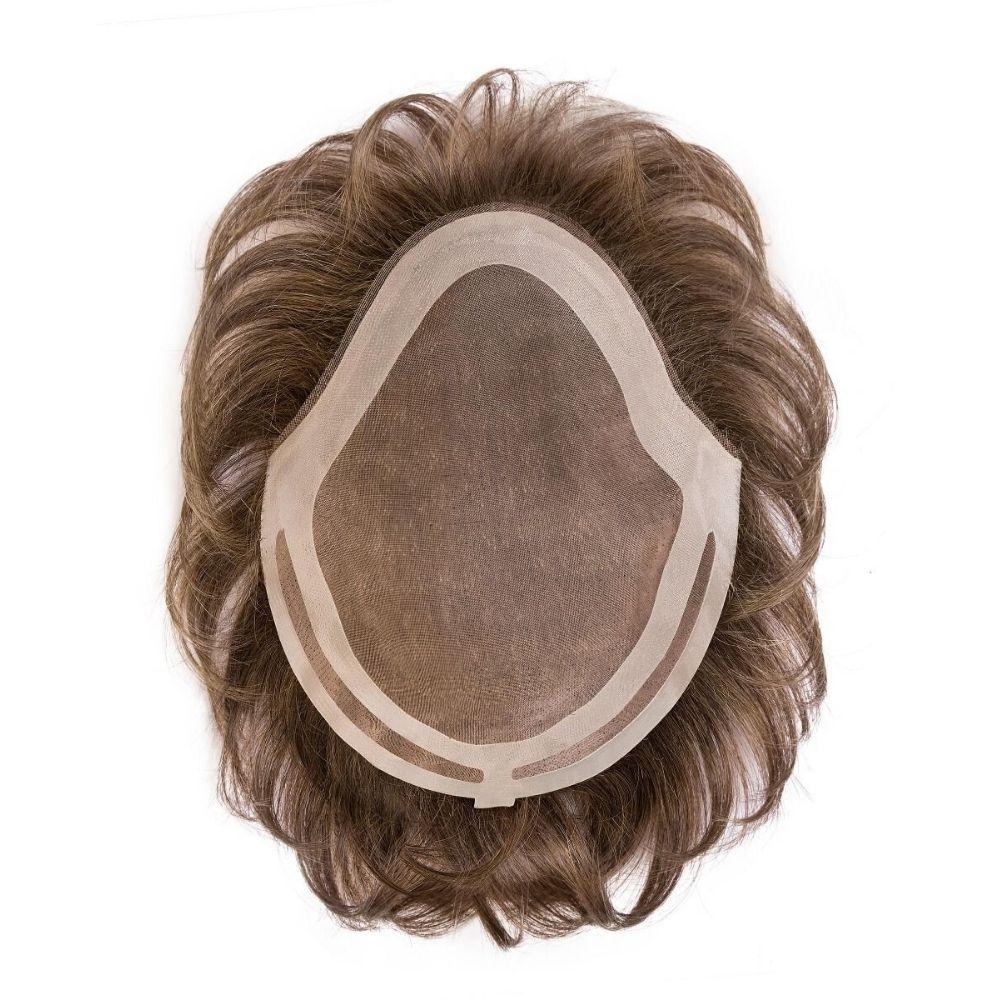 Henry postizo de cabello natural
