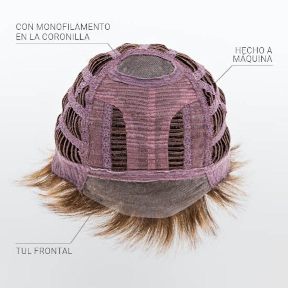 Ivy Peluca oncológica de cabello sintético