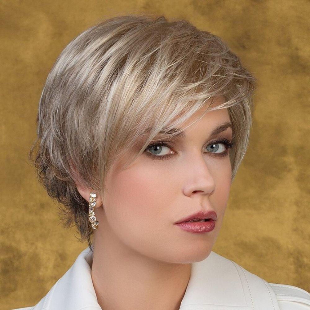 Joy Peluca oncológica de cabello sintético