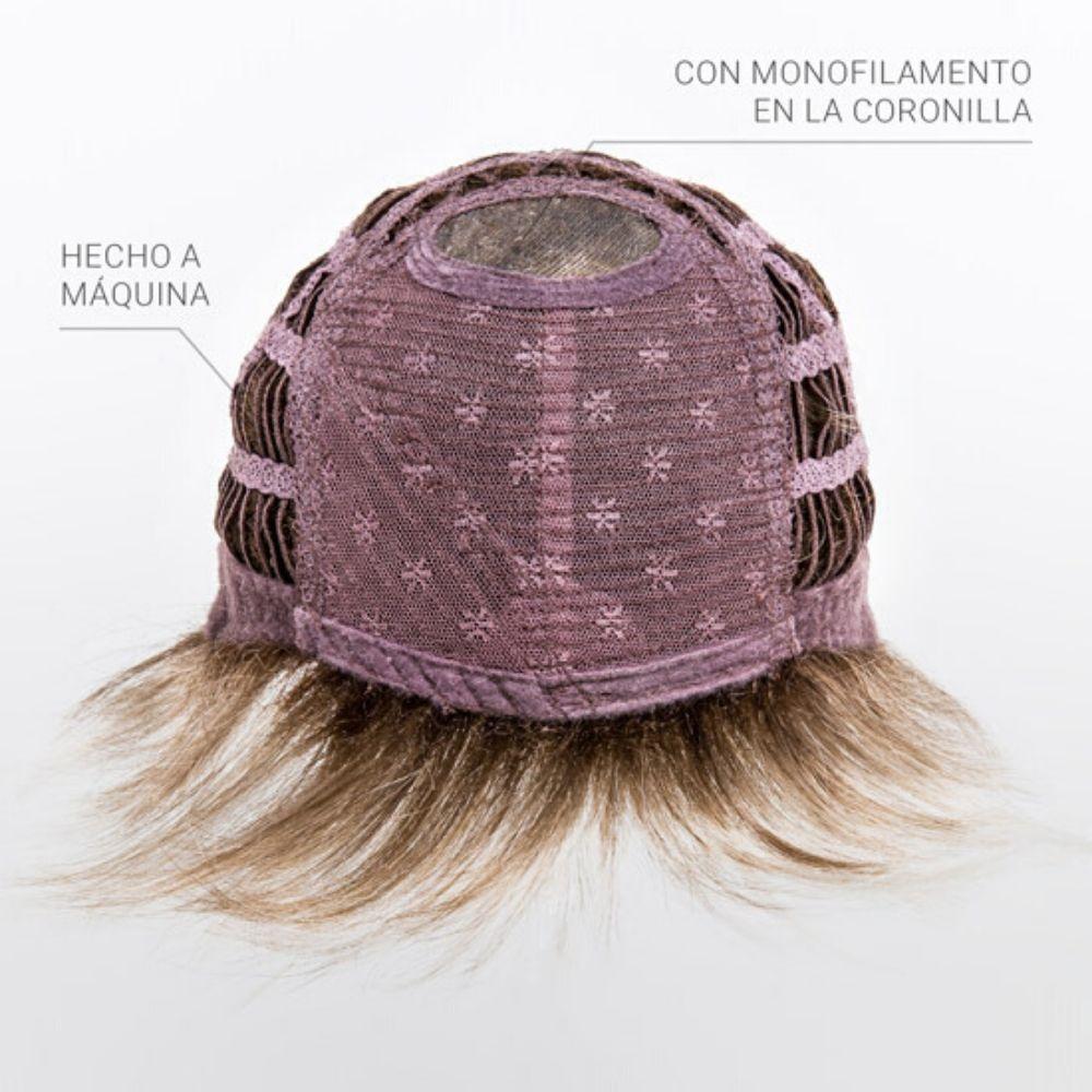 Score Peluca oncológica de cabello sintético