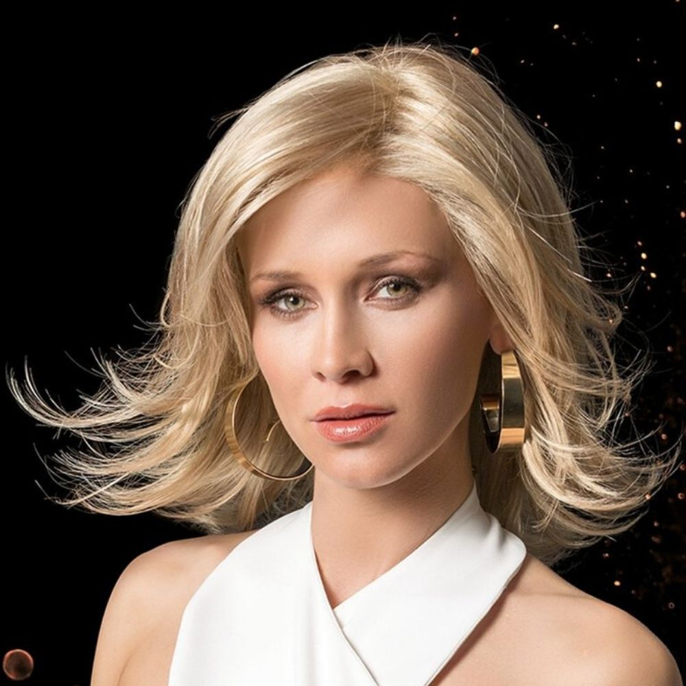 Splendid Peluca oncológica de cabello sintético