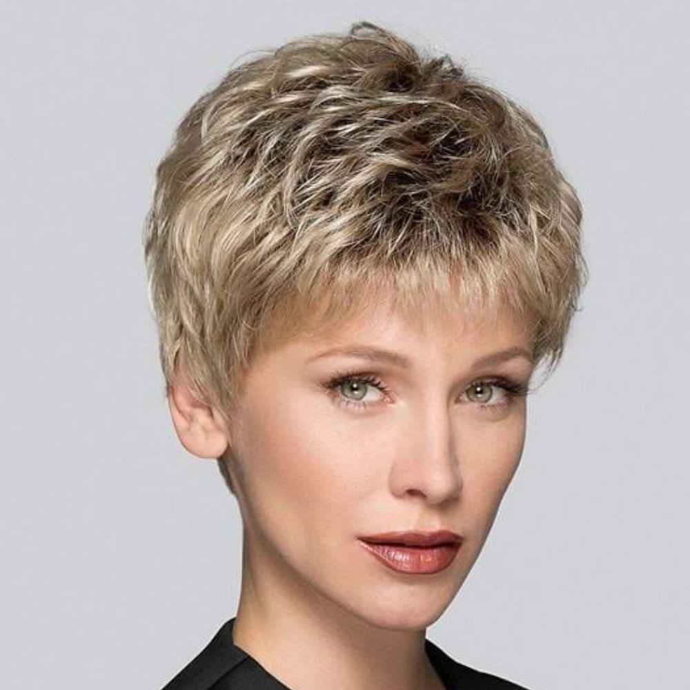 Tab Peluca oncológica de cabello sintético