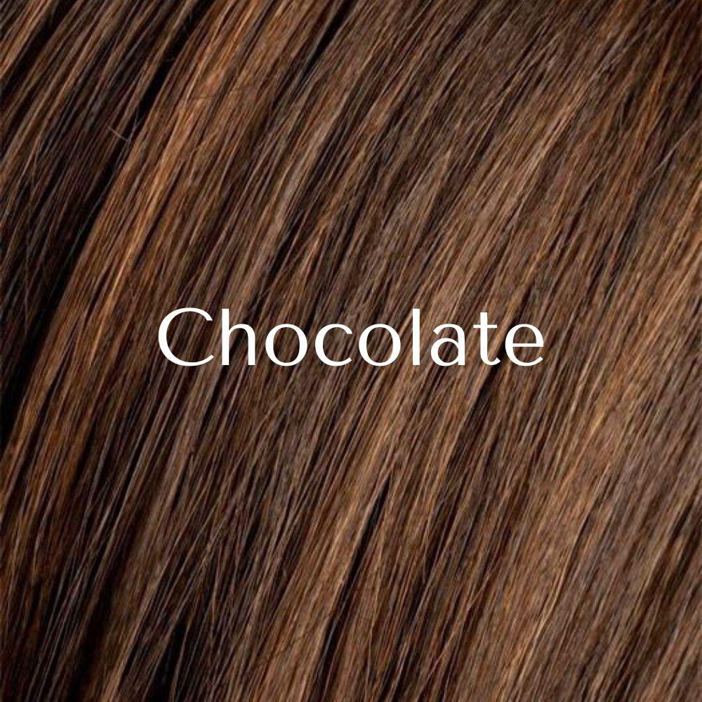 Close postizo de cabello sintético