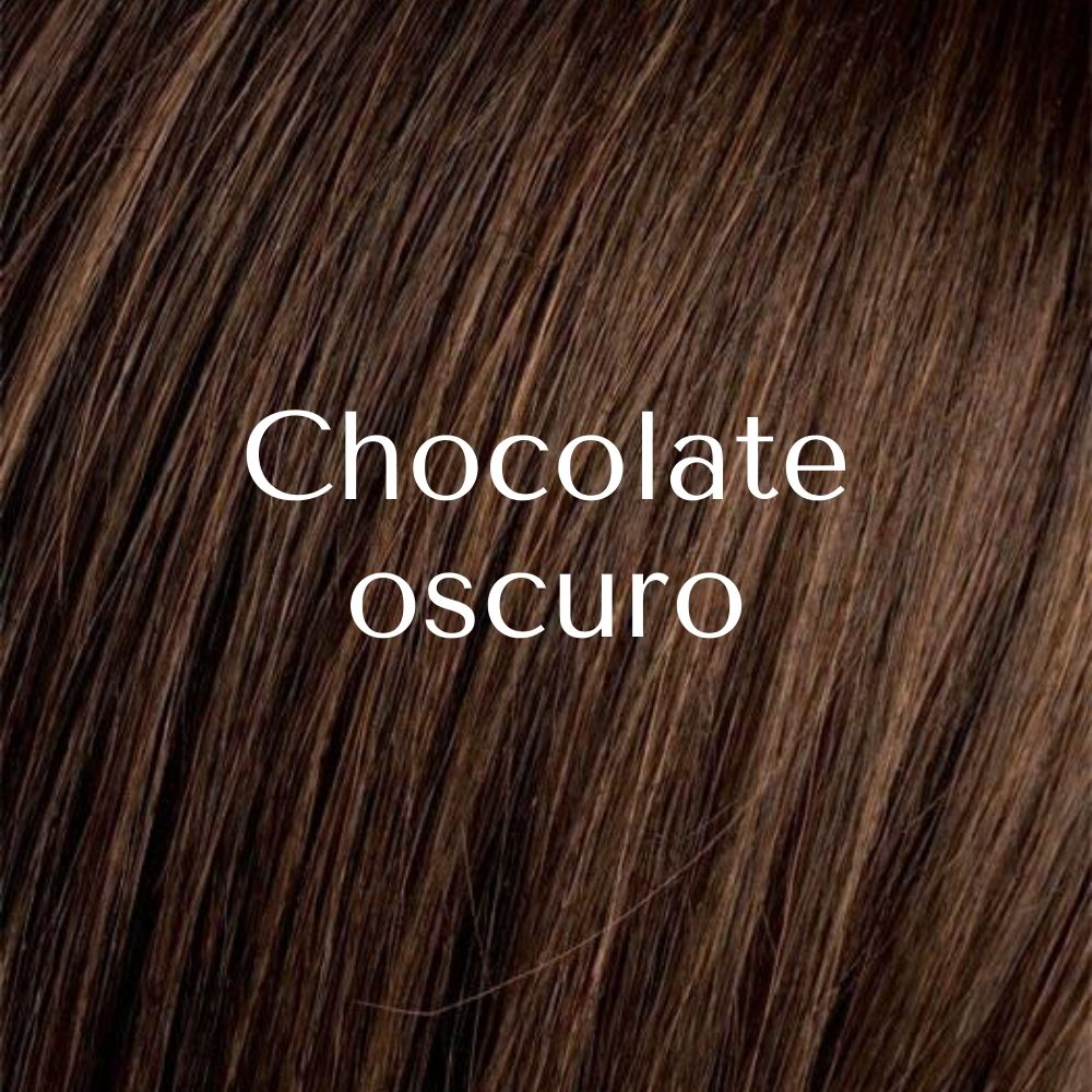 Real aplique de cabello mixto