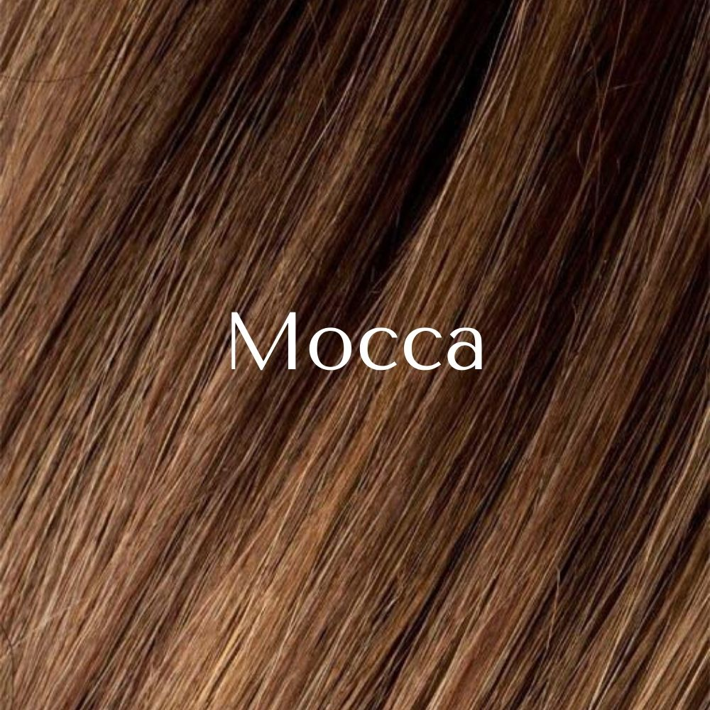 West Peluca oncológica de cabello sintético